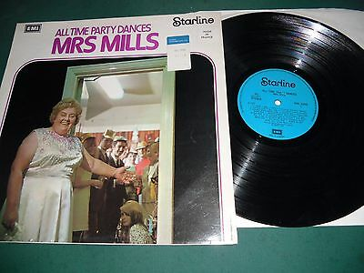 Mrs. Mills  Lp Lot Of 3 - All Time Party Dances/your One And Only/non-Stop Honky