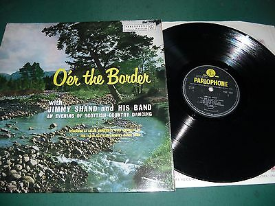 Jimmy Shand And His Band Lp - O'er The Border
