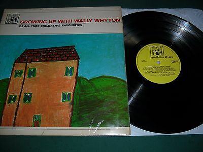 Growing Up With Wally Whyton Lp - 29 All Time Children's Favourites