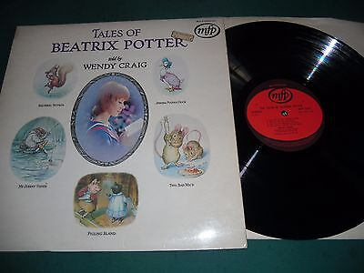 Tales Of Beatrix Potter Told By Wendy Craig Lp Record
