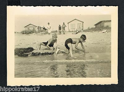 LABOE JÄGERSBERG, 1937, altes Foto vintage Photo, Strand german beach plage (85)