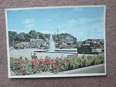 Postcard of Oslo Akershus Castle from City Hall Square