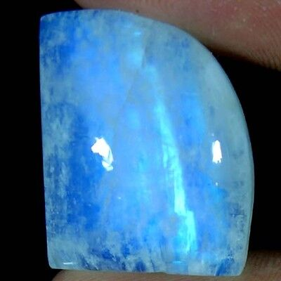 36.45Cts. 100% NATURAL ADORABLE POWER RAINBOW MOONSTONE FANCY CABOCHON GEMSTONES