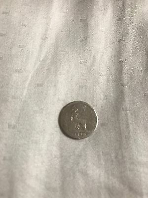 Victoria 1848 Silver Four Pence