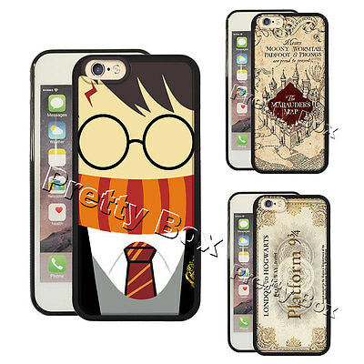 Harry Potter Marauder's Map Phone Case Fit for Iphone & Samsung Cover