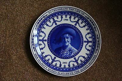 Hm The Queen Mother - Wedgwood Commemorative Plate