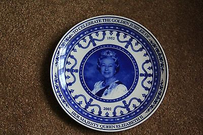 Hm The Queen - Wedgwood Commemorative Plate