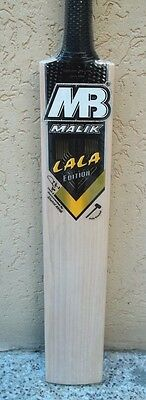 Special Offer MB MALIK lal Edition Top Quality English Willow Cricket Bat New