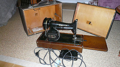Singer 99k Semi Industrial Electric Sewing Machine with Case - Heavy Duty