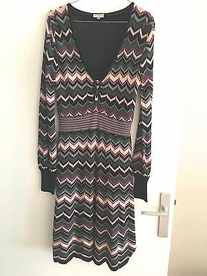 Superbe robe lainage/ Beautiful woolen dress KAREN MILLEN FR40/UK3