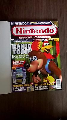 Nintendo Official Magazine with Pokemon Stickers March Issue 102