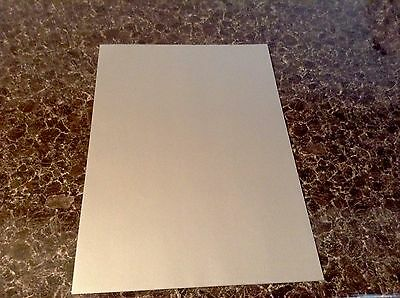 Create And Craft Pk 10 X A4 Silver Pearlescent Vellum