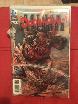 Batman/Superman Comic Book #3.1 (Doomsday #1) HOLOGRAPHIC COVER