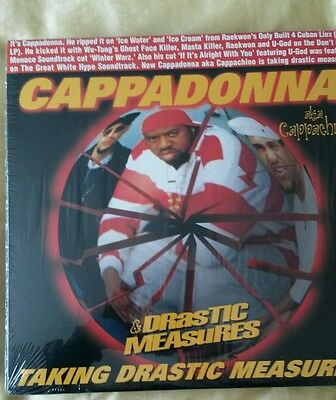 Cappadonna taking drastic measures 12""