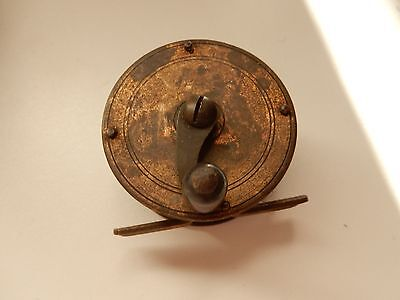 2 1/4inch Fishing Reel, Brass Plate