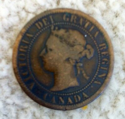 1891 One Cent Canada