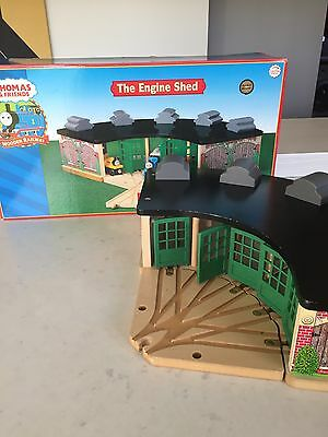 """Thomas and Friends """"The Engine Shed"""" boxed with turntable"""