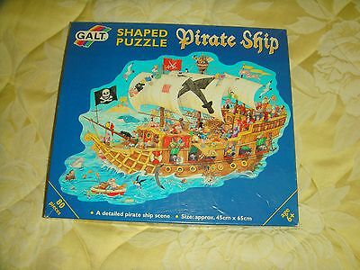 Childs Shaped Pirate Ship Jigsaw Puzzle