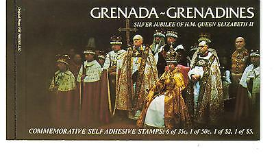 Grenada Grenadines 1977 Silver Jubilee - Complete Booklet with 9 stamps