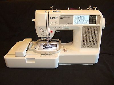 Brother SE425 Computerized Embroidery & Sewing Machine + USB Lead + Extra CD