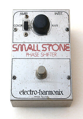 1976 Electro-Harmonix USA Small Stone Phase Shifter Guitar Effects Pedal PD-2535