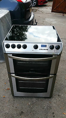 Hotpoint  Double Oven Ceramic Electric Cooker In Good Condition & Working Order