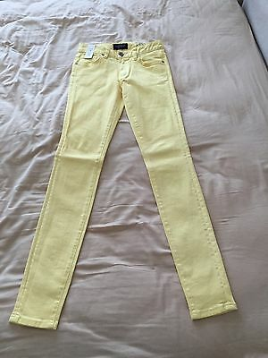 Just Jeans Women's Yellow Supa Skinny Jeans Size 6