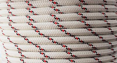 10mm x 35m Polyester Rope Double Braided Black - Yacht Sailing Mooring