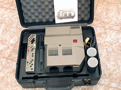 Rollei Rolleivision MSC 300 P Twin Lens Slide Projector Remote Control with Case