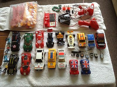 Antique Scalectrix Track & Cars