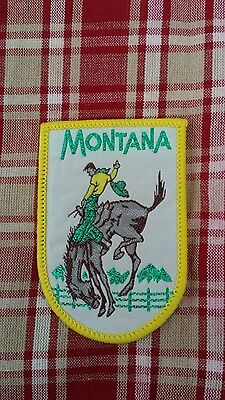State of Montana Rodeo Style patch New
