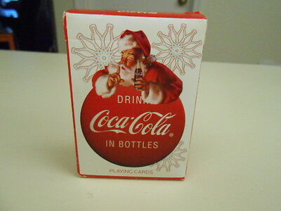 New Santa Drinking Coca-Cola Deck of Playing Cards