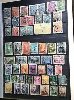 Turkish Stamp Collection