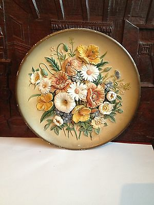 VINTAGE BOSSONS WALL PLAQUE Summer time 1959