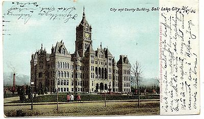 City and County Building, Salt Lake City. 1906, children