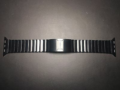Apple Watch 38mm Space Black Stainless Steel Link Bracelet Band Only