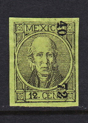 MEX1868's 12c #59 TLAXCALA  40-72  BETTER DATE R8  MHOG (H2845)