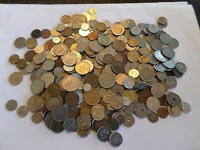 WORLD / FOREIGN - Over  1.5Kg of Mixed World Coins  Job Lot  Unsorted