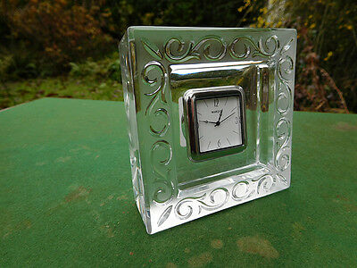 Marquis Waterford Crystal Clock