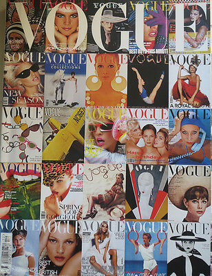 Vogue Magazine Dec.2006 90th Anniversary Issue Fold out Cover with 90 cover pics