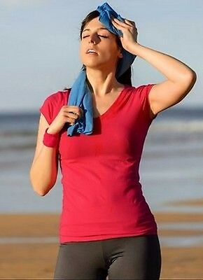 Ultra Absorbent Microfibre Towel for Sports & Travel-Includes FREE  carry bag