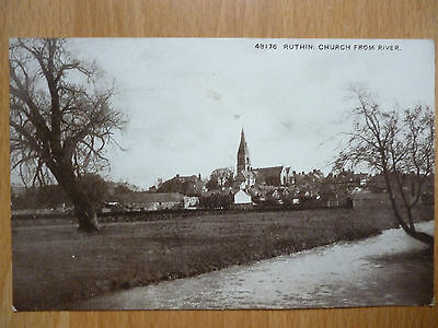 Church From River  Ruthin 1916 Postmark