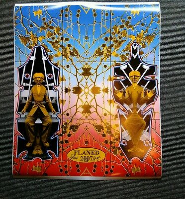 """Gilbert and George """" planed """"2007 quality poster 610mm wide x 750mm"""
