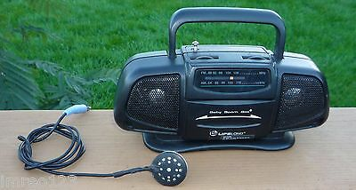 TOY CRYSTAL RADIO  AM-FM MINI BOOMBOX  Works without external antenna connection