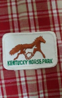 Kentucky Horse Park patch never used