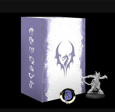 Hordes Legion of Everblight Fyanna Torment Limited Edition Warlock Box (In Hand)