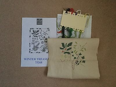 Winter Treasures Cross Stitch Kit To Be Completed