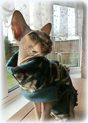 kitten A Comfy cat top for a Sphynx cat clothes for Sfinks Katze, cat clothes