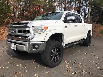 2015 Toyota Tundra 1794 Edition 2015 Toyota Tundra 1794 4x4 Lifted Loaded only 58k miles