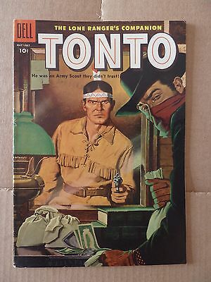 Comic Book Dell Golden Age Tonto May-July 1955 NO.19